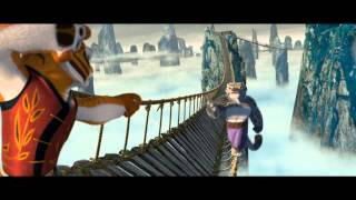 Kung Fu Panda Tigress & Furious Five bridge fight scene (1080 HD)