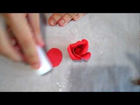 Tutorial rose in pasta di zucchero
