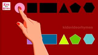 Shapes Puzzle Game for Children nursery rhymes