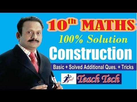 Xxx Mp4 Construction 10th Maths NCERT Complete Solution 10th Maths CBSE Board 3gp Sex