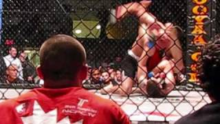 MMA Submission of the Night: Battle at the Border 6 - Lance Anderson Vs Adam Rossow