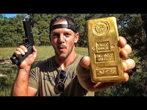 Is a Gold Bar Bulletproof 45 000
