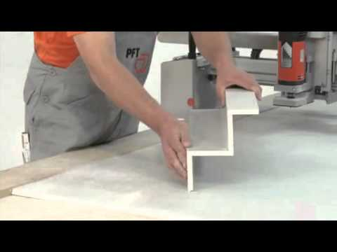 PFT Boardmaster XL The Revolution in drywall construction