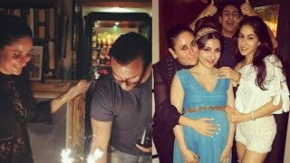 Kareena Kapoor Khan bonds with all family members on Saif 's Birthday Bash |Taimur Is missing
