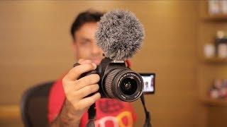 Canon 200D Budget DSLR for YouTube Videos - Let