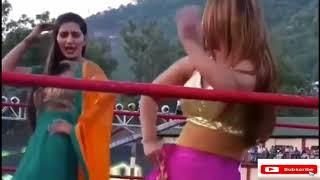 Sapna Choudhary Dance WWE Ring Video
