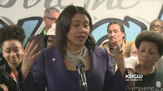 London Breed Makes First Appearance As Acting Mayor