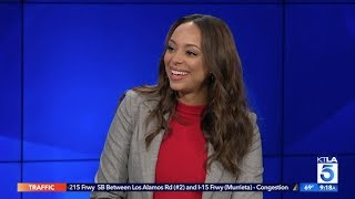"""Amber Stevens West on her Pregnancy & New Show """"Happy Together"""""""