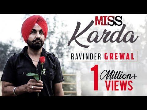 MISS KARDA | RAVINDER GREWAL | Latest Punjabi Songs 2016