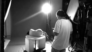 Behind the scenes Nude art photo shooting