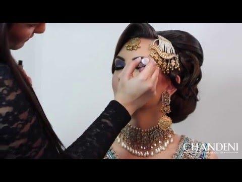 Reception/ Walima Bridal Makeup & Hair by Chandeni