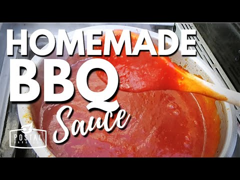 Easy Barbecue Sauce Recipe - The Best Homemade BBQ Sauce ever