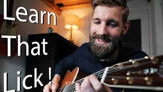 Learn That Lick #2 | Sweet Alternate Picking Lick!