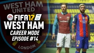 SIGNING THE FUTURE MESSI!!! FIFA 17 West Ham Career Mode #14