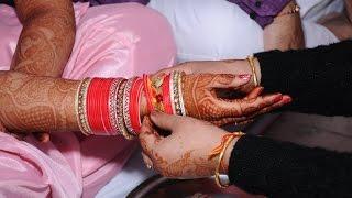 Abhay weds Khyati - Chuda Ceremony