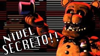 NIVEL SECRETO?? | Five Nights At Freddy's 2: Noche 2 - JuegaGerman