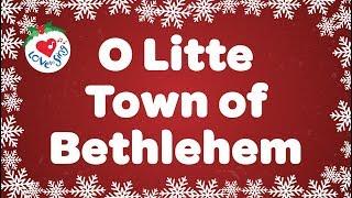 O Little Town of Bethlehem with Lyrics   Christmas Carol & Song   Children Love to Sing