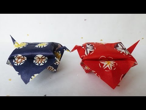 Japanese Traditional Origami PLUMP SPARROW