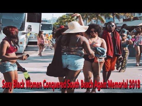 Xxx Mp4 Sexy Black Women Conquered South Beach Again Memorial 2018 3gp Sex