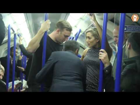 Xxx Mp4 Video Shows Men Rushing To Woman S Aid In Fake Sex Assault On London Tube Train 3gp Sex