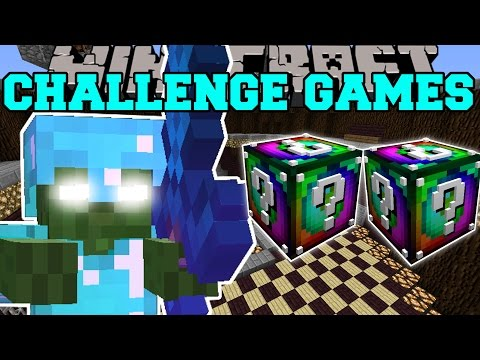 Minecraft BOB CHALLENGE GAMES Lucky Block Mod Modded Mini Game