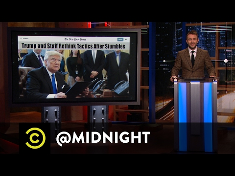 Donald Trump s Misguided White House Tours midnight with Chris Hardwick