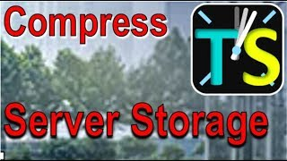 IT Green - Compress Server Storage and accelerate Backup