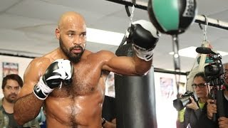 Gerald Washington WILLING & READY for Dillian Whyte fight on June 3rd