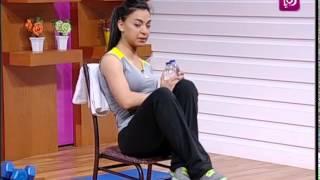 الرياضة - تمارين منزلية لتقوية العضلات وحرق السعرات الحرارية