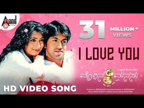 Xxx Mp4 I Love You Moggina Manasu Yash Radhika Pandith Sonu Nigam Kannada Songs 3gp Sex