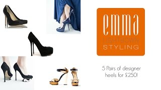 || Cheap designer shoes - 5 pairs for £250! || Emma Lightbown ||