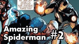 Amazing Spider-Man #2 Review/Recap. Electrifying Kiss!