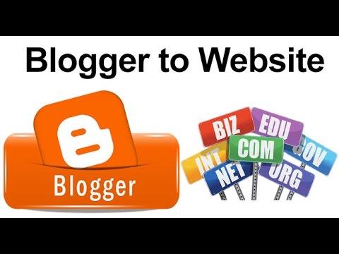 How To Convert Blogspot As A Professional Website