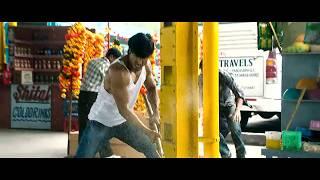 Commando 2013 Movie Fight scene  Bus Stand
