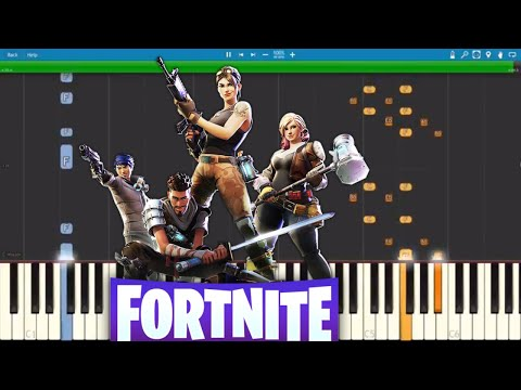 Fortnite Dances - Fresh Piano Tutorial - How to play Fresh ...