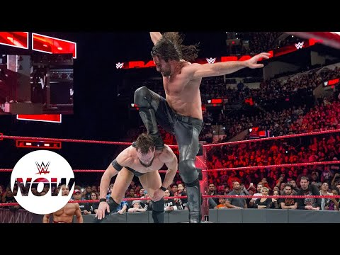 Xxx Mp4 Seth Rollins Brings Back Notorious Finisher WWE Now 3gp Sex