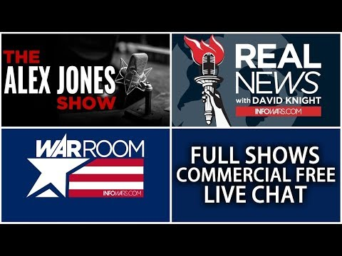 Xxx Mp4 LIVE 📢 Alex Jones Infowars Stream With Today S Shows Commercial Free • Friday 7 20 18 3gp Sex