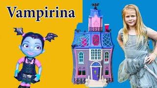VAMPIRINA Disney Fangtastic Assistant Scare N Seek with Wiggles in Spooky Hunt