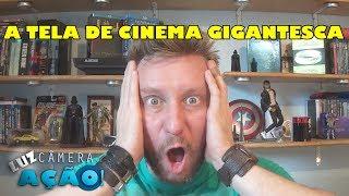 A maior tela de cinema que você já viu!