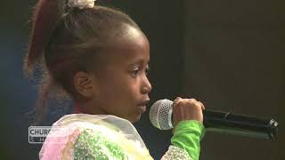 Claire performs a Poem On Churchill Show