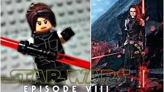 LEGO Star Wars Episode 8 (VIII) - Dark Side Rey Minifigure Review