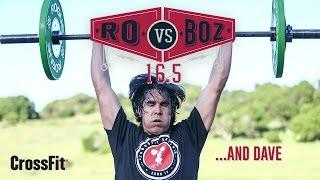 Ro Vs. Boz: Open Workout 16.5 in 4K