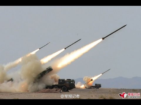Raw footage: Chinese army live fire