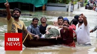 India Floods: Worst floods in 100 years - BBC News