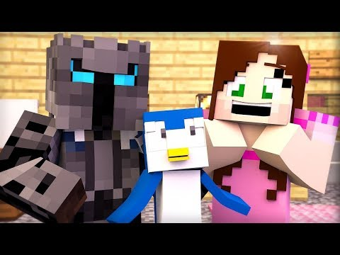 Minecraft: PENGUINS HIDE AND SEEK!!! - Animation
