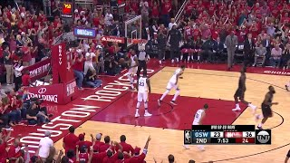 2nd Quarter, One Box Video: Houston Rockets vs. Golden State Warriors