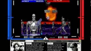 Coin-Op Games 1991 - Terminator 2: Judgement Day (Midway) [MAME]