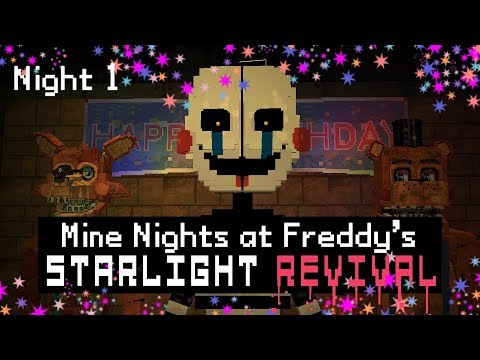 Xxx Mp4 MINE Nights At Freddy 39 S 5 Starlight Revival Night 1 Minecraft FNAF Roleplay 3gp Sex