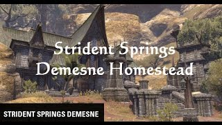 Eso homestead overview of the medium houses in eso daikhlo for Homestead furniture eso