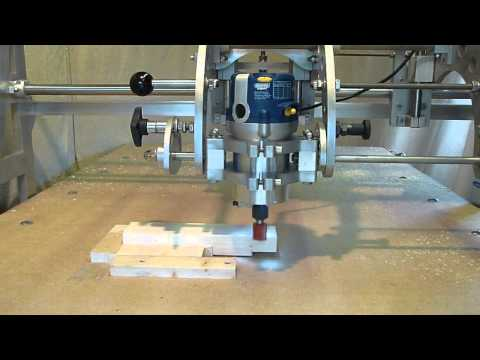 Clone 4D Router Duplicator Copy Carver Joinery Cutting a Tenon & Open Mortise